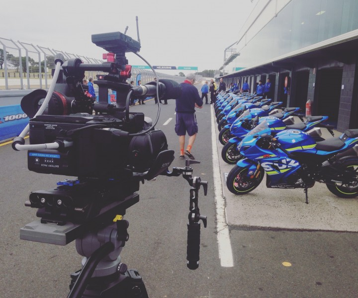 On location on Phillip Island for Suzuki's GSX-R 1000R Global Launch Week